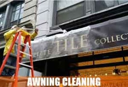Picture for category Awning Cleaning Service                 Before / After
