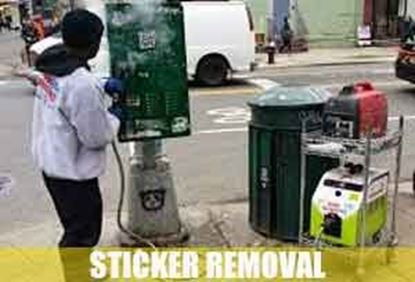 Picture for category Sticker Removal Service                  Before / After