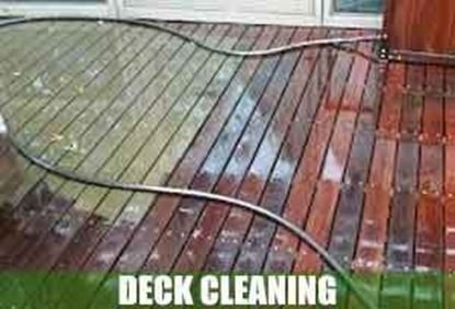 Picture for category Deck Cleaning Service                    Before / After