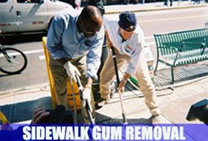 Picture for category Sidewalk Gum Removal Service