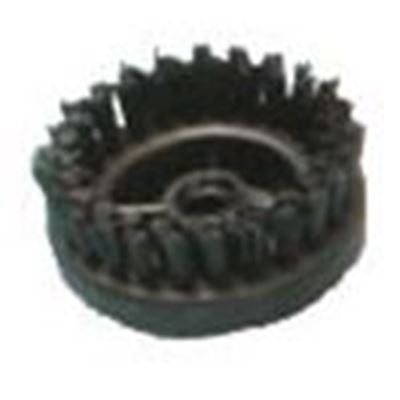 60mm Round Nylon Brush (Steam Only